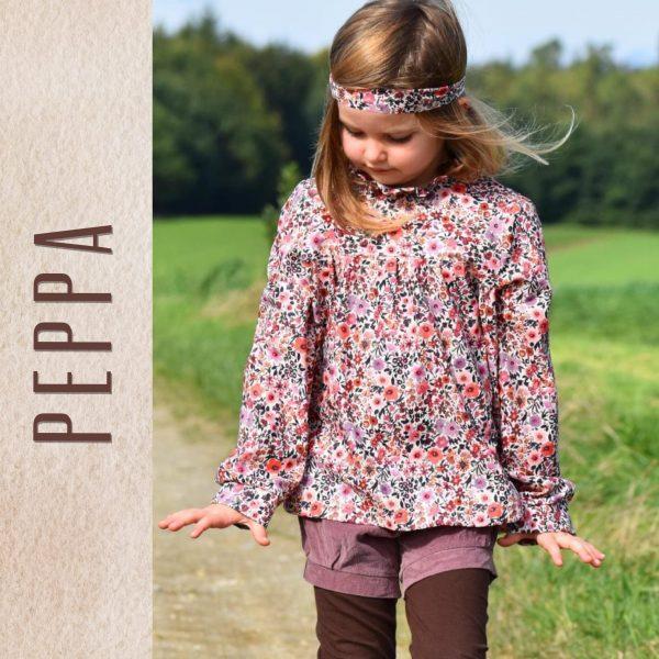 """Digitales Schnittmuster und EBOOK Kleid und Bluse """"Peppa"""" (Größen 98-122)"""