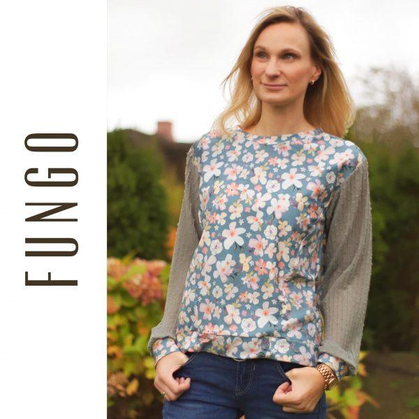 """Digitales Schnittmuster und EBOOK Oversized Pullover """"Fungo"""" (Größen 34 - 48)"""