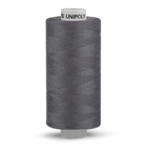 Nähgarn aus Polyester, Grau, 500m