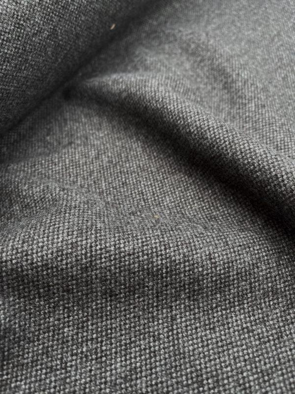 Tweed Strick, grau (REST)