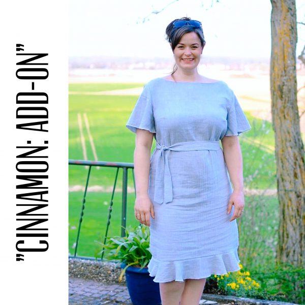 """Kleid """"Cinnamon"""" + Add-On (Größen 34 - 48) Digitales Schnittmuster und Nähanleitung"""