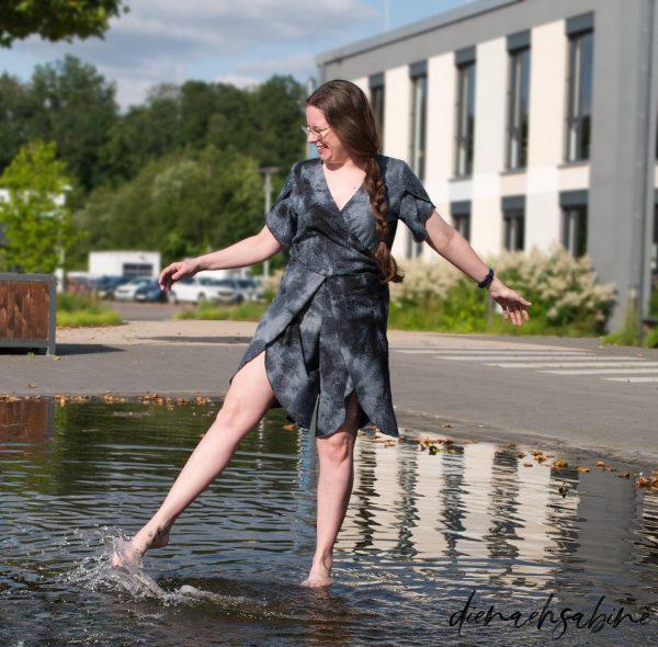 """Jumpsuit/Kleid """"Narzisse"""" (Größen 34 - 48) Digitales Schnittmuster und Nähanleitung"""
