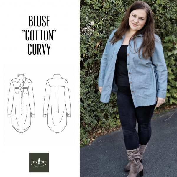 "Bluse ""Cotton"" Curvy (Gr. 46 - 54), EBOOK"